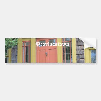 Provincetown Car Bumper Sticker