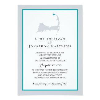 Provincetown Cape Cod | Wedding Card