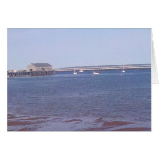 Provincetown Harbor Card