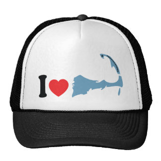 "Provincetown ""I Love"" Design. Trucker Hat"