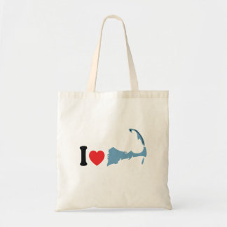 "Provincetown ""I Love"" Design. Tote Bag"