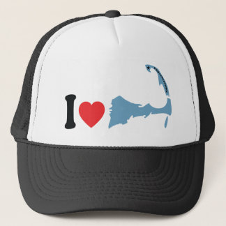 "Provincetown ""I Love"" Design. Trucker Hat"