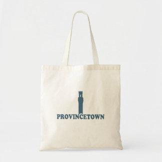 "Provincetown ""Lighthouse"" Design. Canvas Bag"