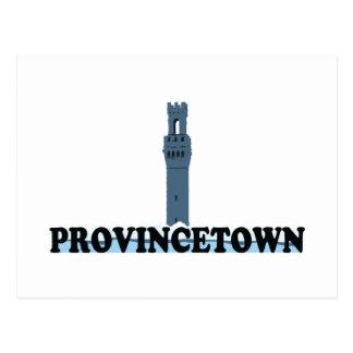 "Provincetown ""Lighthouse"" Design. Postcard"