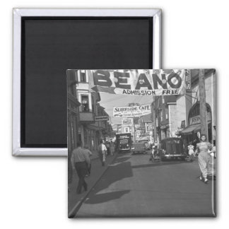 Provincetown, Mass. : 1937 2 Inch Square Magnet