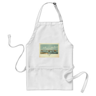 Provincetown Massachusetts in 1877 Adult Apron