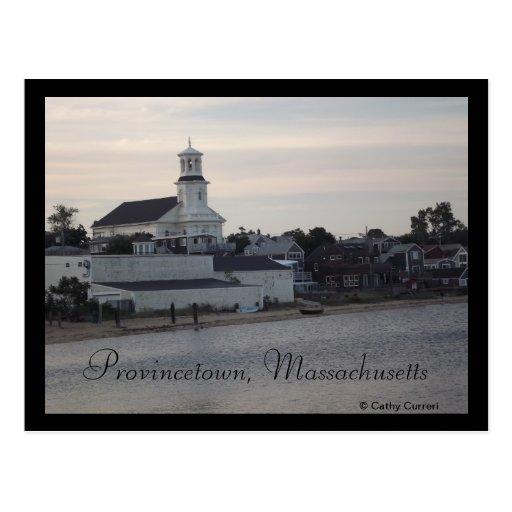 Provincetown, Massachusetts Tarjeta Postal