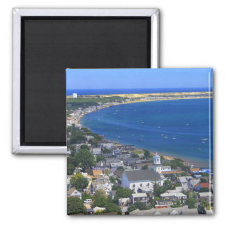 Provincetown Monument View Truro 2 Inch Square Magnet