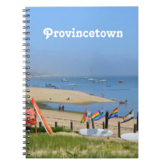 Provincetown Spiral Note Books