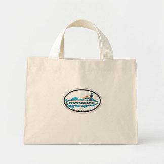 Provincetown Oval Design. Tote Bag