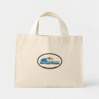 Provincetown Oval Design. Canvas Bags