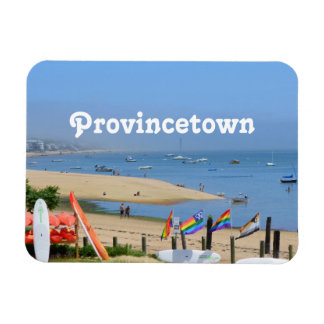 Provincetown Rectangular Photo Magnet