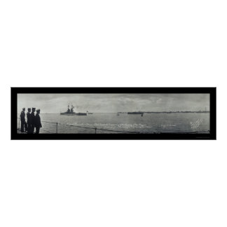 Provincetown Ships Photo 1920 Poster