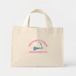 "Provincetown ""Varsity"" Design. Tote Bag"