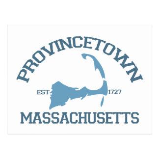 "Provincetown ""Varsity"" Design. Postcards"