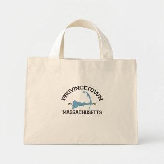 "Provincetown ""Varsity"" Design.  Provincetown ""Va Canvas Bag"