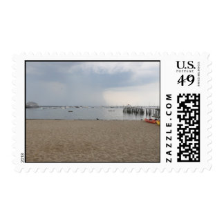 Provincetown view of Bay Postage
