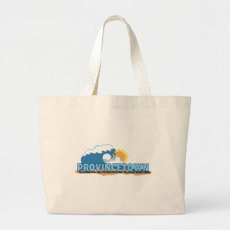 """Provincetown """"Waves"""" Design. Tote Bag"""