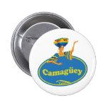 Provincia de Camagüey. Pinback Button