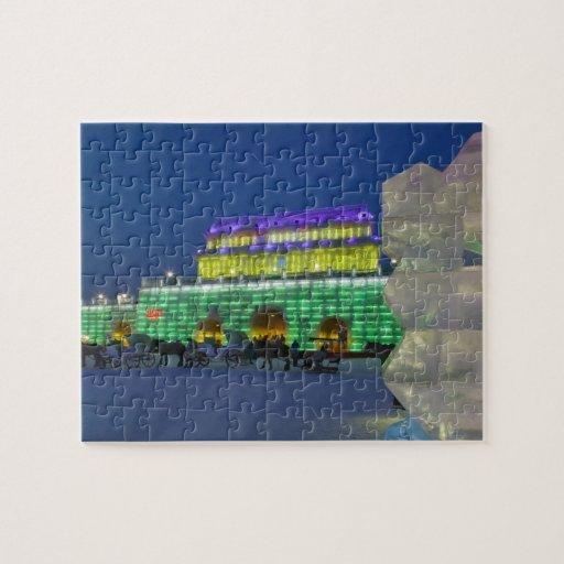 Provincia de CHINA, Heilongjiang, Haerbin (Harbin) Puzzles Con Fotos