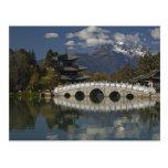 Provincia de CHINA, Yunnan, Lijiang. Lijiang viejo Tarjetas Postales