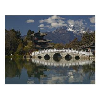 Provincia de CHINA Yunnan Lijiang Lijiang viejo Tarjetas Postales