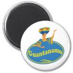 Provincia de Guantanamo. 2 Inch Round Magnet