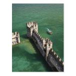 Provincia de Italia, Brescia, Sirmione. Castello 3 Tarjeta Postal