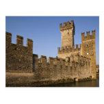 Provincia de Italia, Brescia, Sirmione. Castello Tarjeta Postal