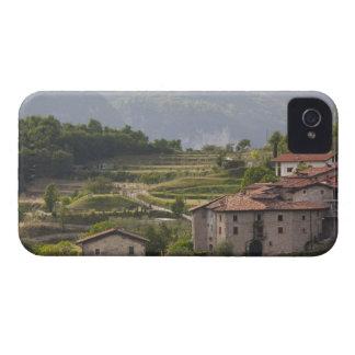 Provincia de Italia, Brescia, Tremosine. Montaña Case-Mate iPhone 4 Cárcasas