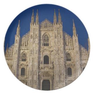 Provincia de Italia Milano Milano Catedral de M Platos De Comidas