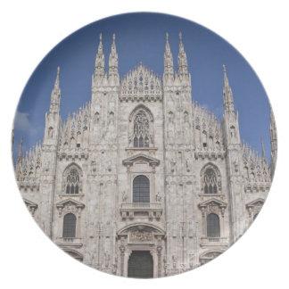 Provincia de Italia Milano Milano Catedral de M Platos Para Fiestas