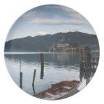 Provincia de Italia, Novara, Orta San Julio. Isola Plato De Cena