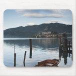 Provincia de Italia, Novara, Orta San Julio. Isola Tapete De Ratones
