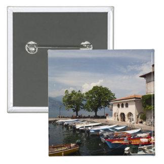 Provincia de Italia, Verona, Malcesine. Cassone vi Pin Cuadrada 5 Cm