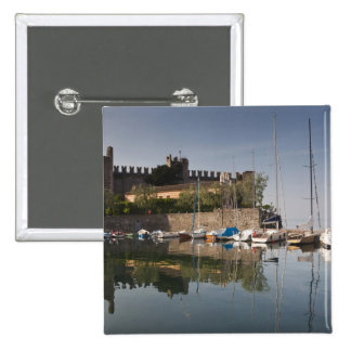 Provincia de Italia, Verona, Torri del Benaco. IL Pin Cuadrada 5 Cm