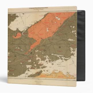 """Provincia de la isla de Nueva Escocia del bretón 3 Carpeta 1 1/2"""""""