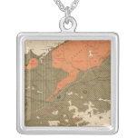 Provincia de la isla de Nueva Escocia del bretón 3 Collar Plateado