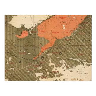 Provincia de la isla de Nueva Escocia del bretón 3 Postales