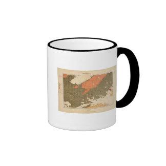 Provincia de la isla de Nueva Escocia del bretón 3 Taza De Dos Colores