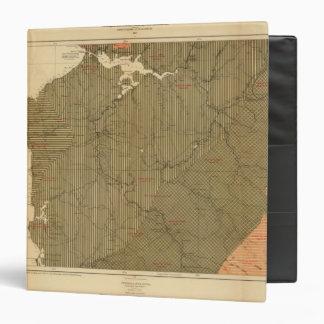 """Provincia de la isla de Nueva Escocia del bretón 4 Carpeta 1 1/2"""""""