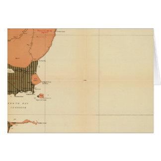 Provincia de la isla de Nueva Escocia del bretón 4 Tarjeta De Felicitación