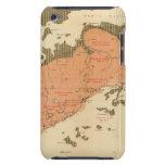 Provincia de la isla de Nueva Escocia del bretón 8 iPod Touch Case-Mate Coberturas