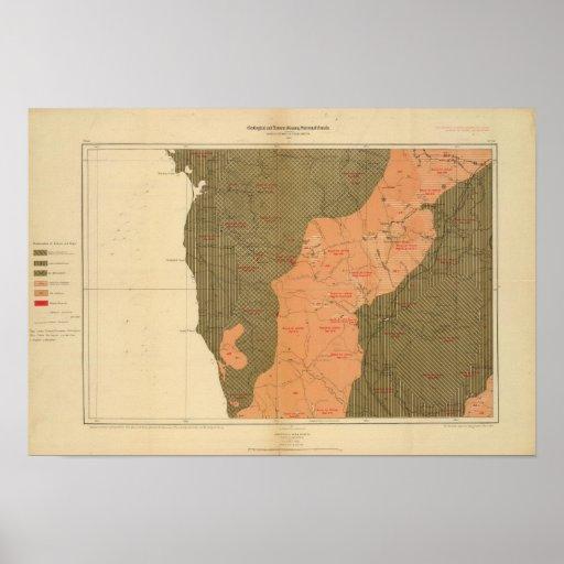 Provincia de la isla de Nueva Escocia del bretón 8 Póster