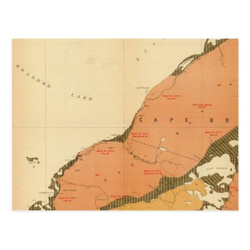 Provincia de la isla de Nueva Escocia del bretón 9 Postal