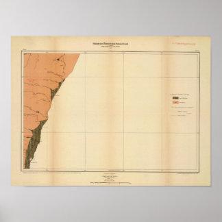 Provincia de la isla de Nueva Escocia del bretón d Póster