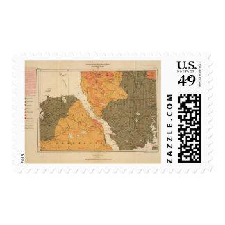 Provincia de la isla de Nueva Escocia del bretón Sellos Postales