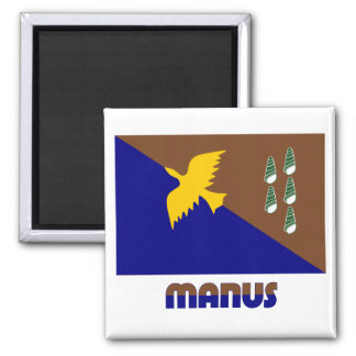 Provincia de Manus, png Imán De Frigorífico