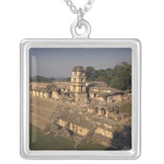 Provincia de México, Chiapas, Palenque, el palacio Colgante Cuadrado