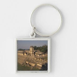 Provincia de México, Chiapas, Palenque, el palacio Llavero Cuadrado Plateado